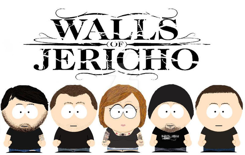 South Park Walls Of Jericho By Lord Nightbreed
