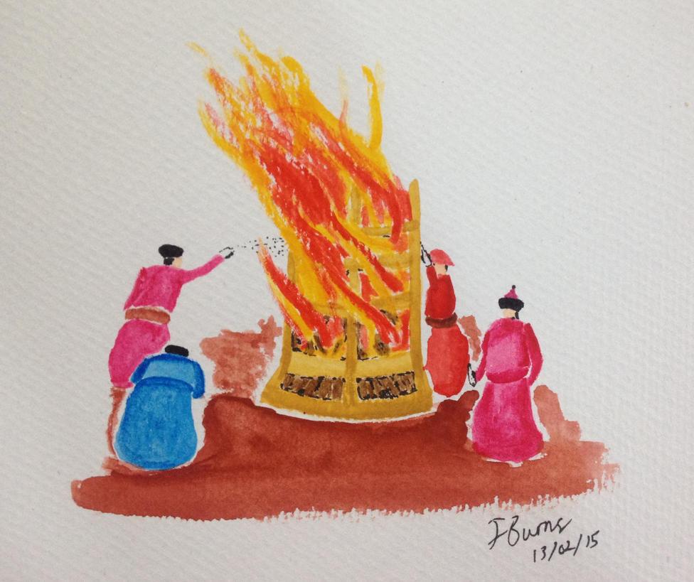 Mongolian Fire Festival by Jburns272