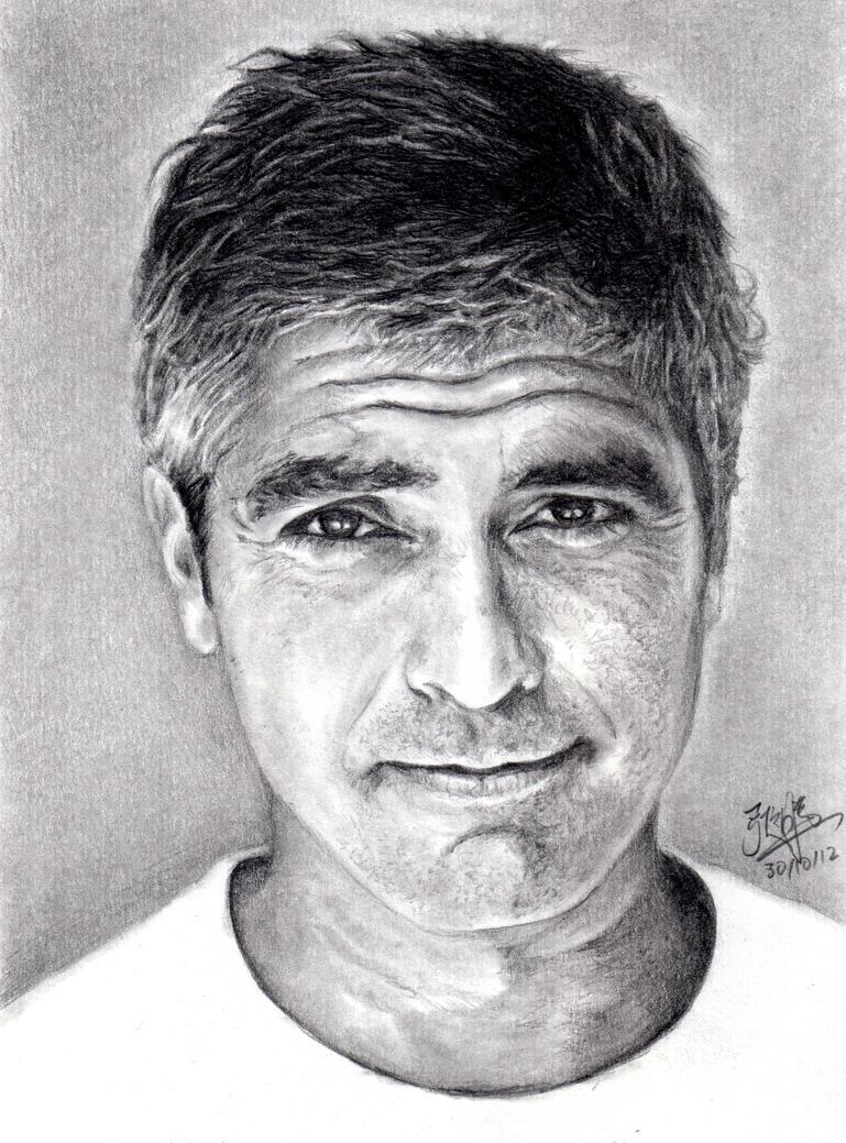 Pencil Portrait of Geo...