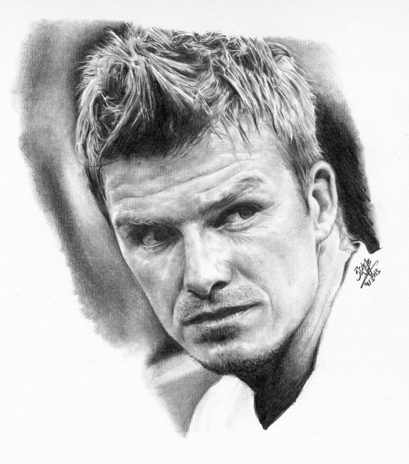 Pencil portrait of David Beckham by chaseroflight on ...