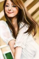 iPad painting of Nozomi Sasaki by chaseroflight