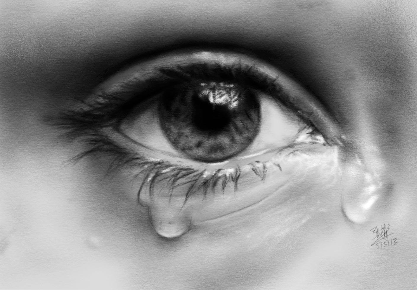 Фото слёзы грусть на аву