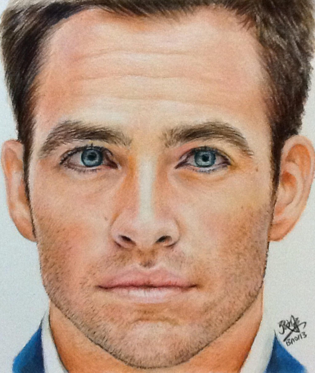 Color Portrait Drawings Color Pencil Portrait of