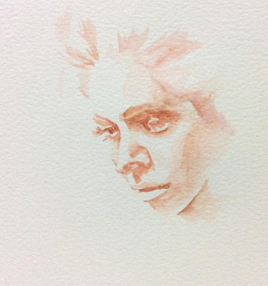 Quick Watercolor sketch  by chaseroflight