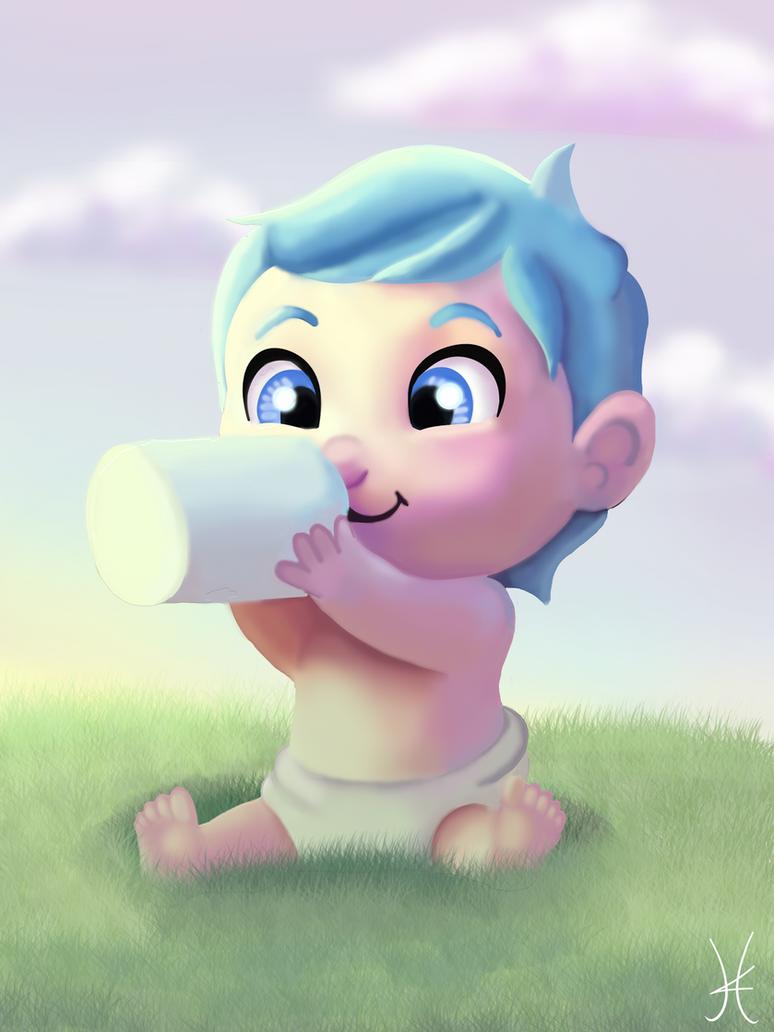 Baby by albinoWolf58