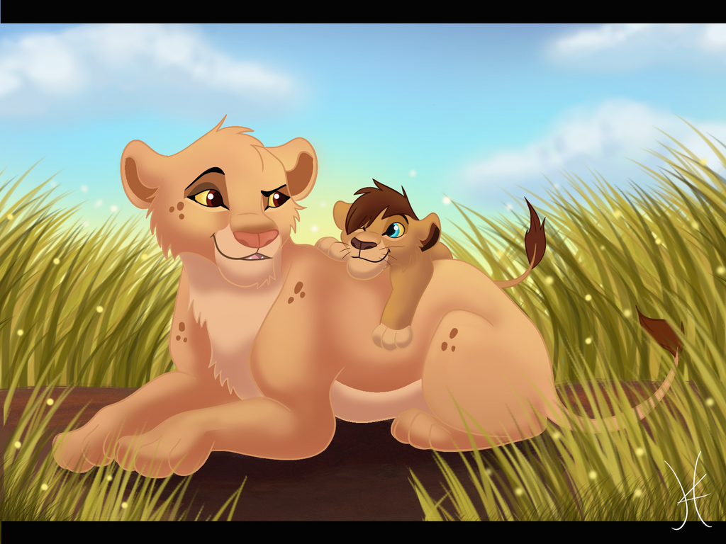Mother And Son by albinoWolf58