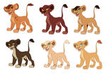 Lion King Cub Adoptables  [ONE LEFT]
