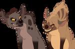 Hyena Pair [CLOSED]