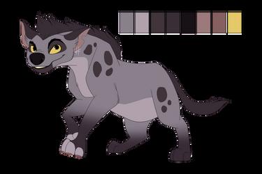 Silver Hyena Custom- COMM