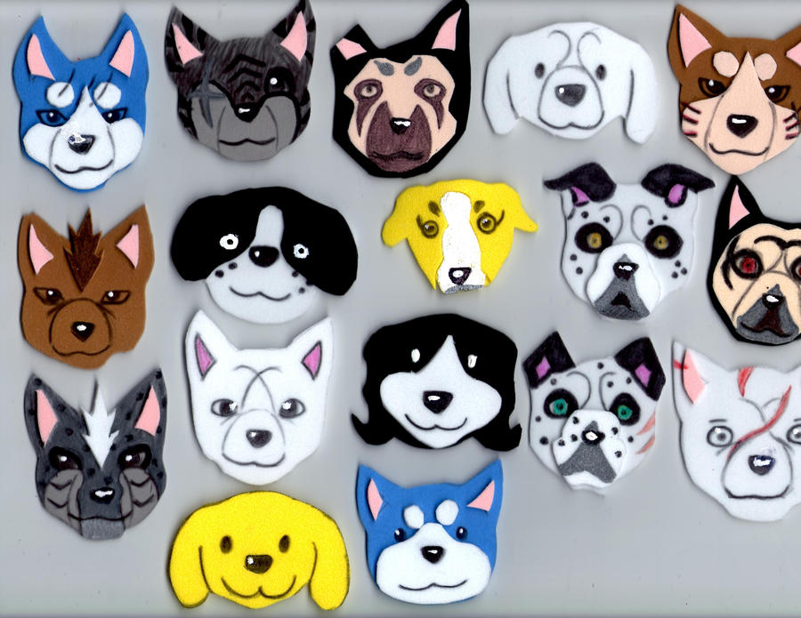 Ginga heads by Riku02