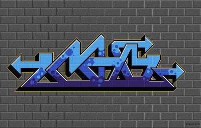 Pixel Graffiti 01 by pieceoftoast
