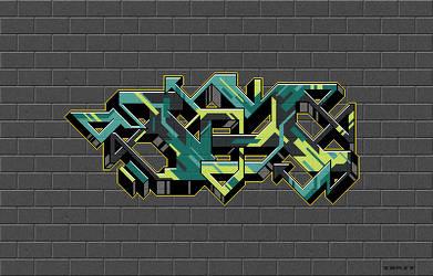 Pixel Graffiti 02