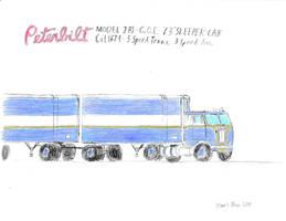 Peterbilt Model 281 C.O.E. 73 Sleeper by Firestarthecat1
