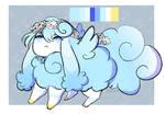 Flowery Magical girl Flufferbun
