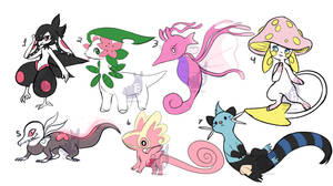 Pokemon design adopt batch closed