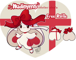 Nudinyms valentines advent- FREE RAFFLE CLOSED
