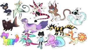 Clearance adopts: electric boogaloo- OPEN
