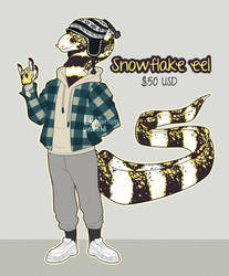 Snowflake eel design CLOSED