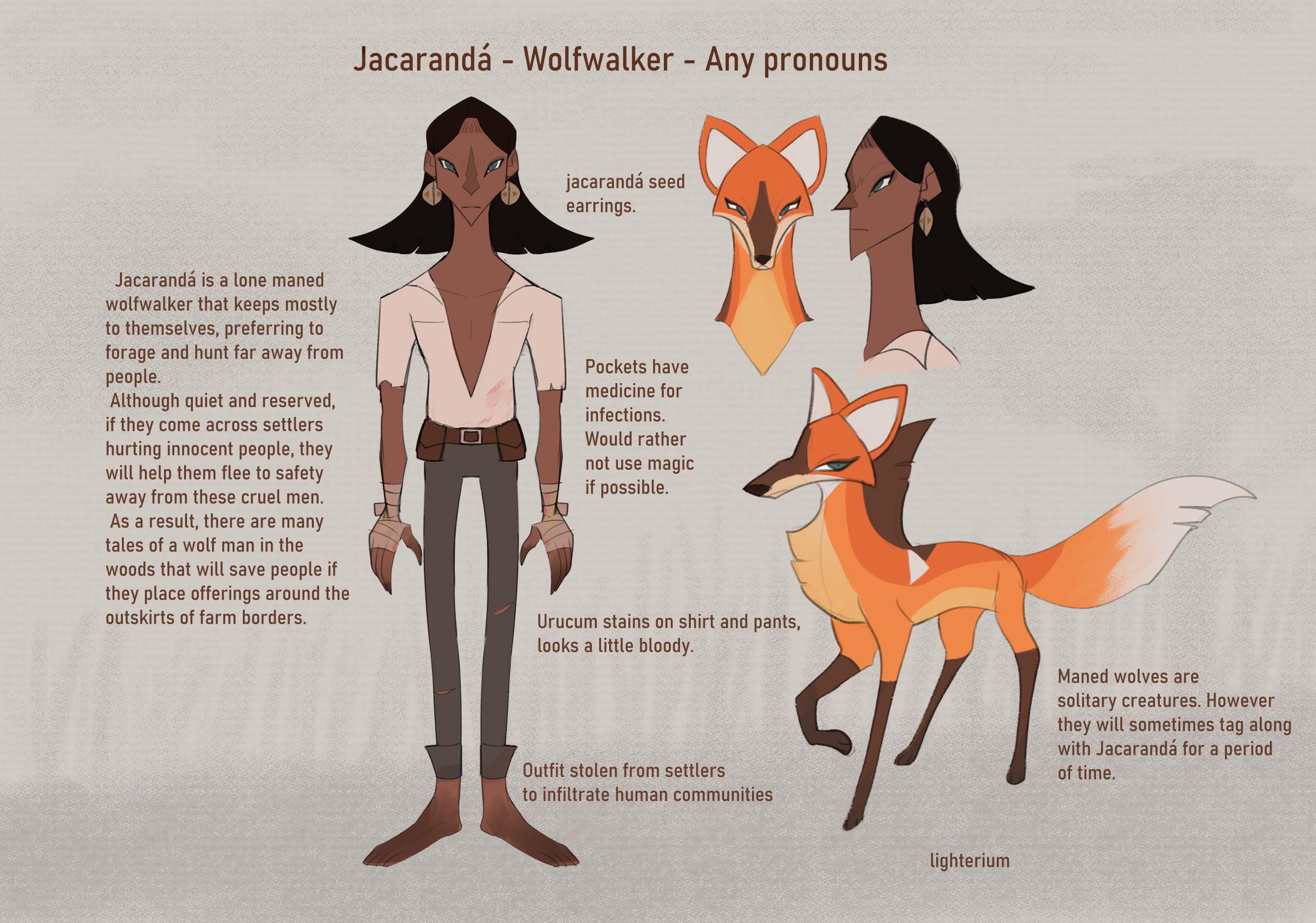 Wolfwalker time