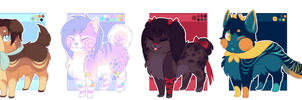 [OTA / AUCTION] [CLOSED] Canine adopts
