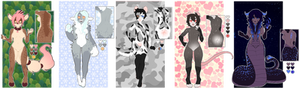 Collab anthro adopts | NYP | 1/5 OPEN