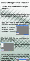 Manga Studio: Importing a File by Rukia2486