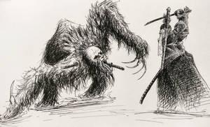 Guardian Ape duel
