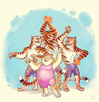 dance with the tigers by AoeReiji