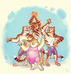 dance with the tigers