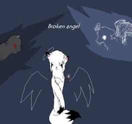Broken angel cover by OtterlyKath
