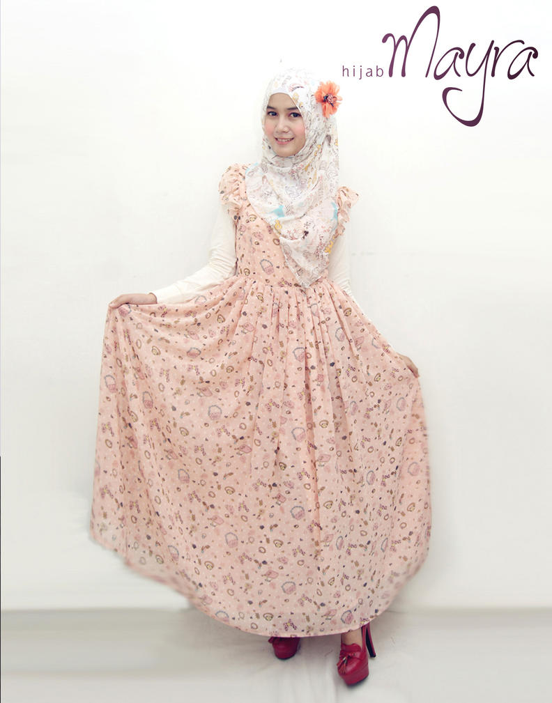 Girly Dress Hijab Mayra By Androoea On Deviantart