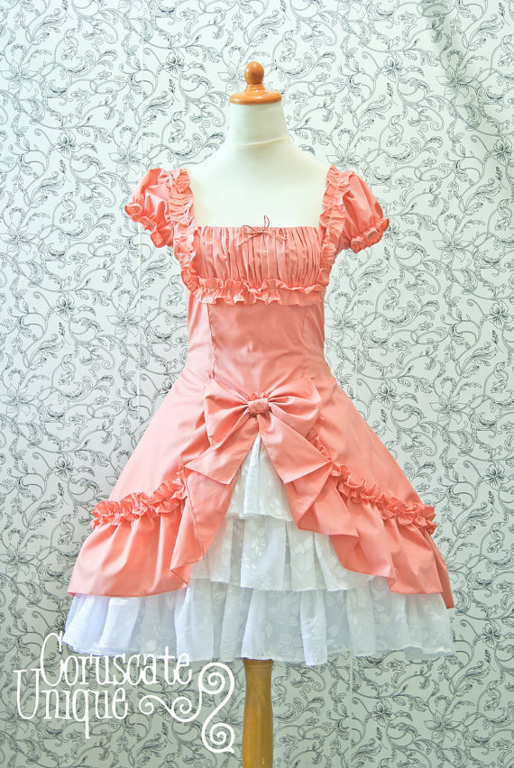Classic Lolita Drapery Dress by androoea