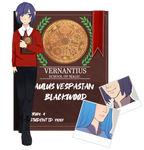 Vernantius: Aulus Vespasian Blackwood by Eulerian-Circus