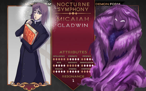 Nocturne Symphony: Micaiah Gladwin