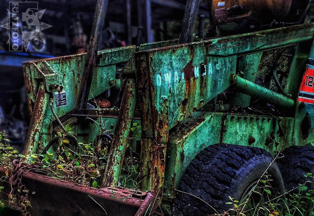 Skid-Steer Stand-Still by fultzfoto