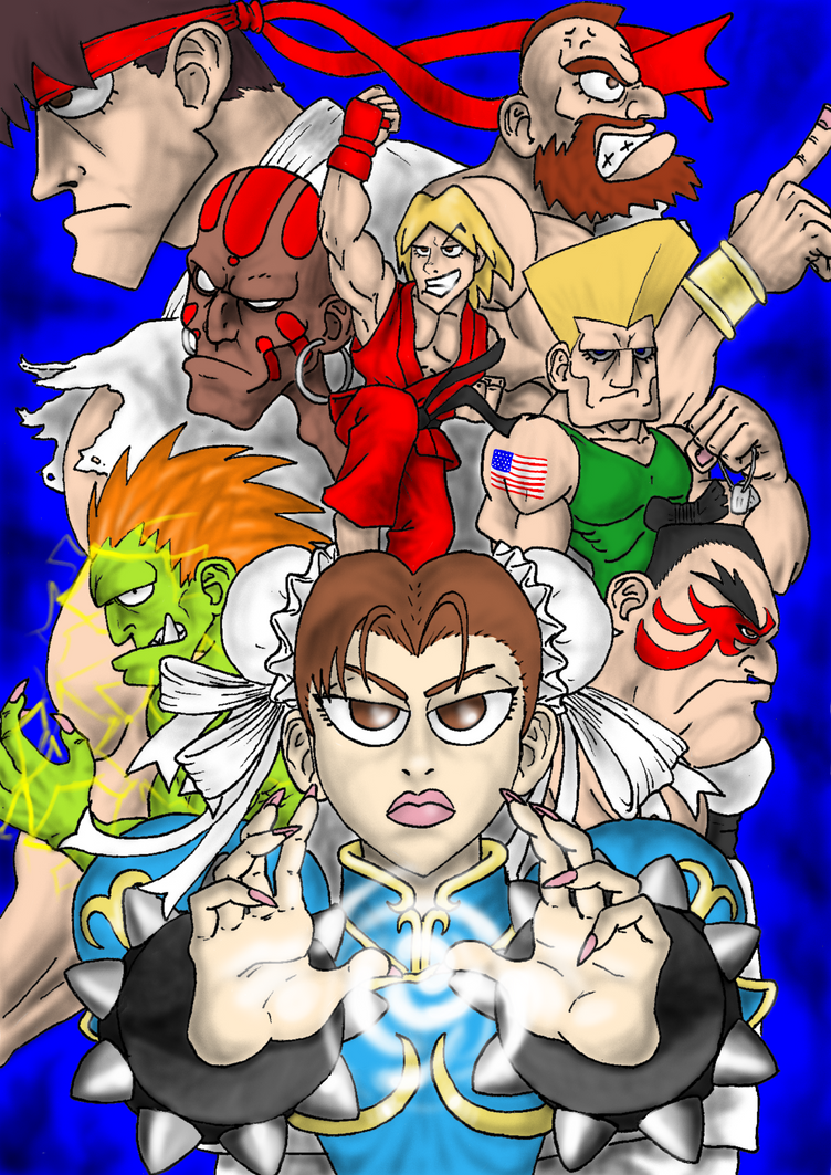 The World Warriors by supersexyman