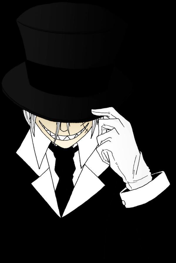 Kojie Evil Smile Top Hat by HellGab on DeviantArt