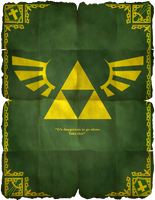 Legend Of Zelda Poster 01 by HellGab