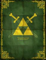 Legend Of Zelda Poster 02 by HellGab