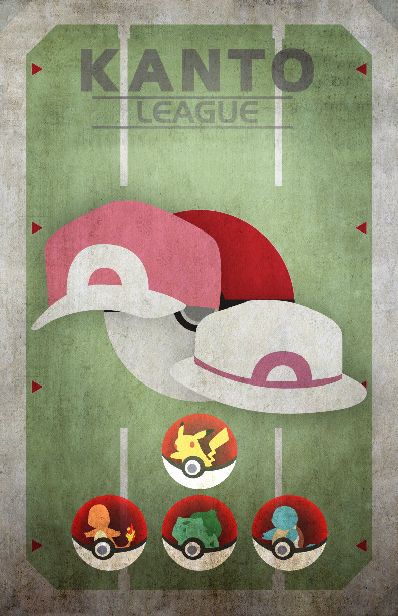 Pokemon Kanto League by HellGab