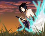 Sasuke Fan Art - Colored