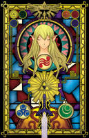 The Goddess Of Hyrule by HellGab