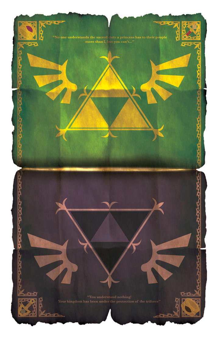 A Link Between Worlds - Poster by HellGab