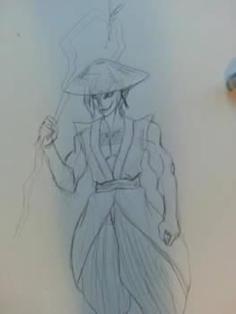 Demon Sand Sketch