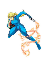 Zero Suit Samus by HellGab