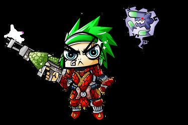 LightBow Gunner Komachi by HellGab