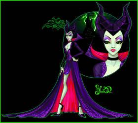 Maleficent v1 by nicolabear