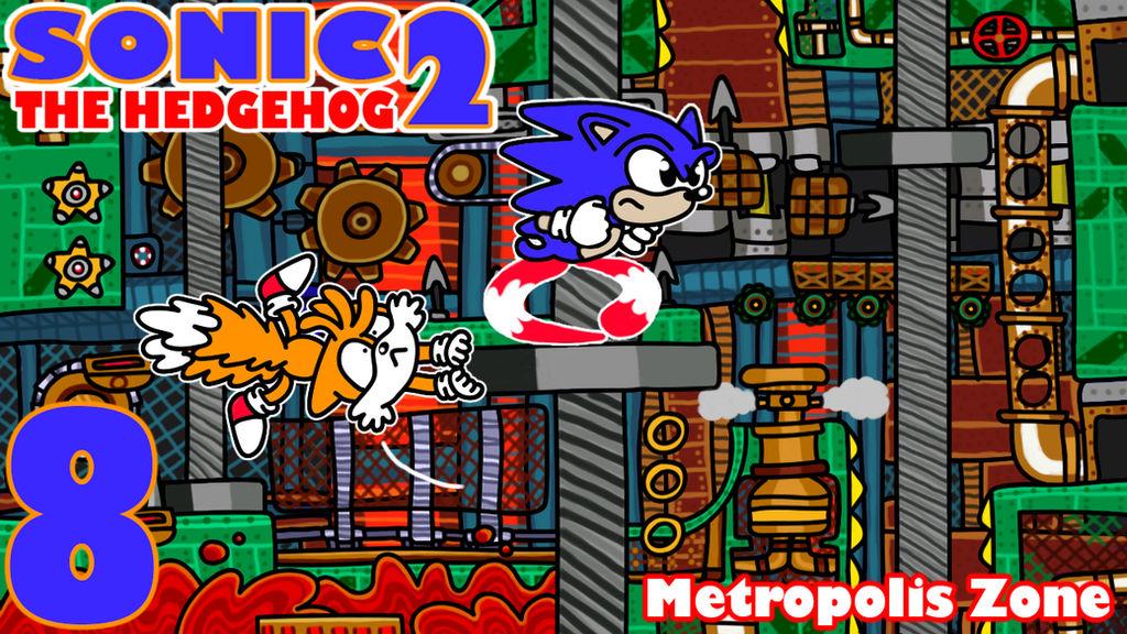 Sonic The Hedgehog 2 Metropolis Zone By Diuky On Deviantart