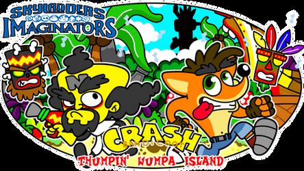 Crash Bandicoot - Thumpin' Wampa Island by diuky