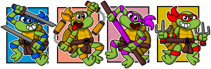 TMNT by diuky